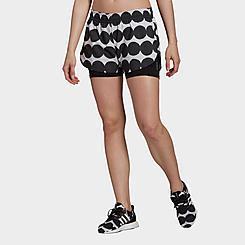 Women's adidas x Marimekko Graphic Marathon 20 Shorts