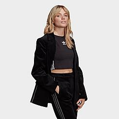Women's adidas Originals Velvet Corduroy Blazer