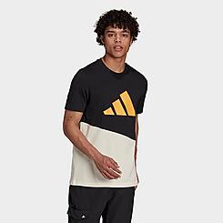 Men's adidas Future Block Badge of Sport Graphic T-Shirt