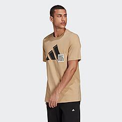 Men's adidas 3 Bar Short-Sleeve Graphic T-Shirt