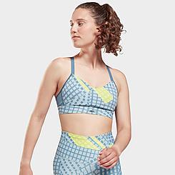 Women's Reebok SR Lux Strappy Medium-Support Sports Bra