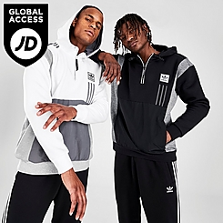 Men's adidas Originals ID96 Half-Zip Hoodie