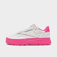 Women's Reebok Club C Double GEO Casual Shoes