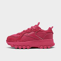 Girls' Toddler Reebok Cardi B Classic Leather Casual Shoes