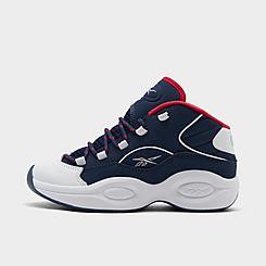 Boys' Little Kids' Reebok Question Mid Basketball Shoes