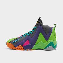 Boys' Big Kids' Reebok x NERF Kamikaze II Mid Basketball Shoes