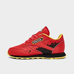 Little Kids' Reebok Jurassic Park Classic Leather Casual Shoes