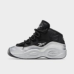 Boys' Little Kids' Reebok Question Mid I3 Motorsports Basketball Shoes