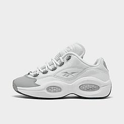 Men's Reebok Question Low Patent Basketball Shoes