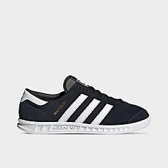 Big Kids' adidas Originals Hamburg Casual Shoes