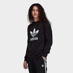 Men's adidas Originals Adicolor Trefoil Crewneck Sweatshirt