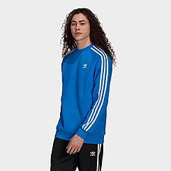 Men's adidas Originals Adicolor Classics 3-Stripes Crew Sweatshirt
