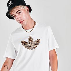 Men's adidas SPRT Trefoil Animal Print T-Shirt