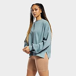 Women's Reebok Classic Natural Dye Notched Hem Crewneck Sweatshirt