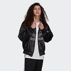 Men's adidas Originals Adicolor Classics Satin Bomber Jacket