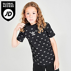 Kids' adidas Originals AOP Trefoil T-Shirt