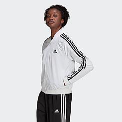 Women's adidas Essentials 3-Stripes Woven Track Jacket