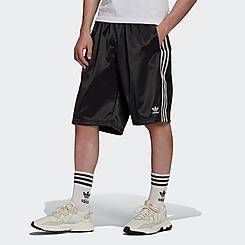 Men's adidas Originals Adicolor Classics 3-Stripes Satin Shorts