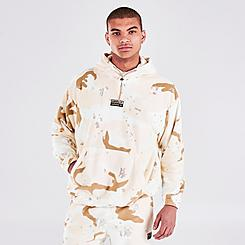 Men's adidas R.Y.V. Camo Fleece Hoodie