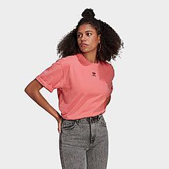 Women's adidas Originals R.Y.V. Cropped T-Shirt