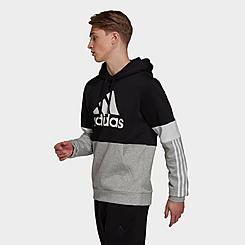 Men's adidas Essentials Fleece Colorblock Hoodie