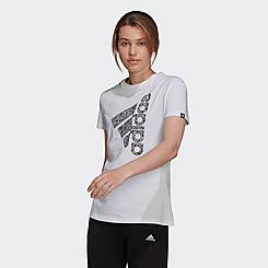 Women's adidas Zebra Logo Graphic T-Shirt