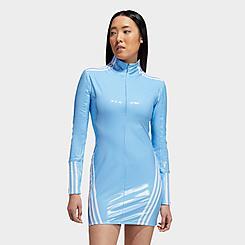 Women's adidas x IVY PARK Zip Latex Dress (XS - XL)