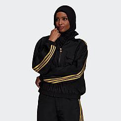 Women's adidas Originals x Marimekko Jacquard Blocking Track Jacket