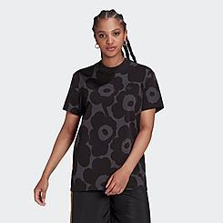 Women's adidas Originals x Marimekko Allover Flower Print T-Shirt