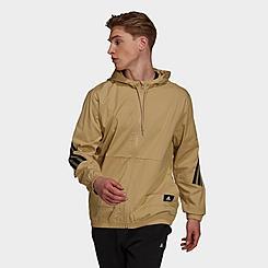 Men's adidas Sportswear Future Icons Hooded Windbreaker Jacket