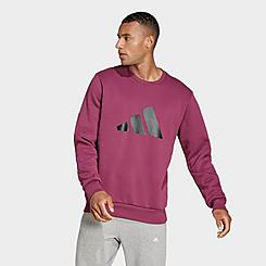 Men's adidas Sportswear Future Icons Winterized Crewneck Sweatshirt