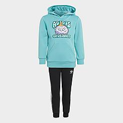 Boys' adidas Originals x Kevin Lyons Monsters Pullover Hoodie and Jogger Pants Set