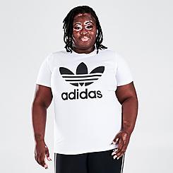 Women's adidas Originals Adicolor Classics Trefoil T-Shirt (Plus Size)