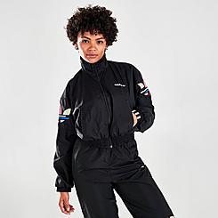 Women's adidas Originals Adicolor Shattered Trefoil Track Jacket