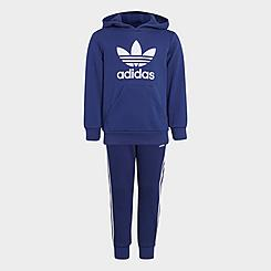 Little Kids' adidas Originals Pullover Hoodie and Jogger Pants Set