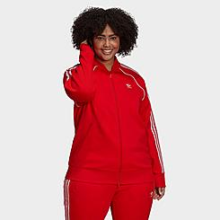 Women's adidas Originals Primeblue SST Track Jacket (Plus Size)