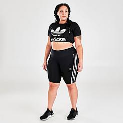 Women's adidas Originals OG Bike Shorts (Plus Size)