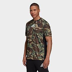 Men's adidas Designed 2 Move Camo Graphic T-Shirt