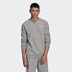 Men's adidas Originals Trefoil Essentials Crewneck Sweatshirt