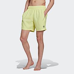 Men's adidas Originals Adicolor Essentials Trefoil Swim Shorts