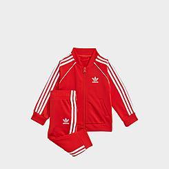 Kids' Infant and Toddler adidas Originals Adicolor SST Track Suit