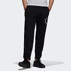 Men's adidas Adicolor Shattered Trefoil Graphic Sweat Pants