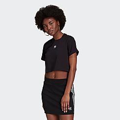 Women's adidas Originals Adicolor Essentials Cropped T-Shirt