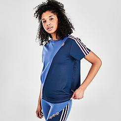 Women's adidas Originals Adicolor Sliced Trefoil Loose T-Shirt