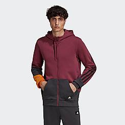 Men's adidas Sportswear Colorblock Full-Zip Hoodie