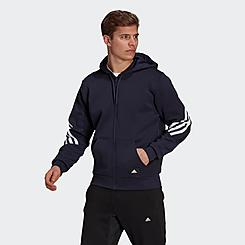 Men's adidas Sportswear Future Icons Three Stripes Full-Zip Hoodie