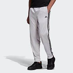 Men's adidas Warm-Up Tricot Tapered 3-Stripe Training Pants