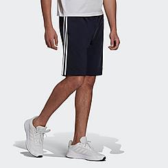 Men's adidas Primegreen Essentials Warm-Up 3-Stripes Shorts