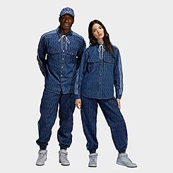 adidas x IVY PARK Monogram Denim Track Pants