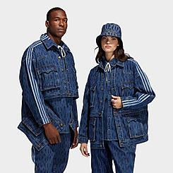 adidas x IVY PARK Monogram Denim Track Jacket